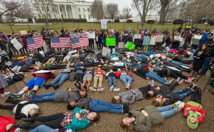 Student Uprising! #NeverAgain Assaults School Gun Violence